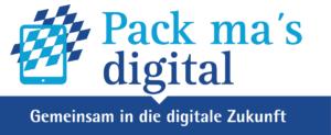 Logo der Initiative Packs mas digital